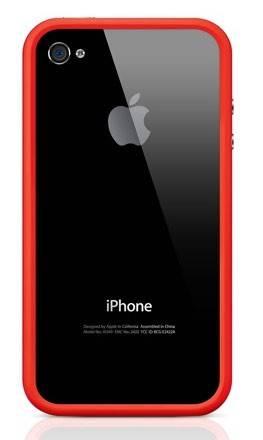 Бампер Apple MD503ZM/B красный - фото 3