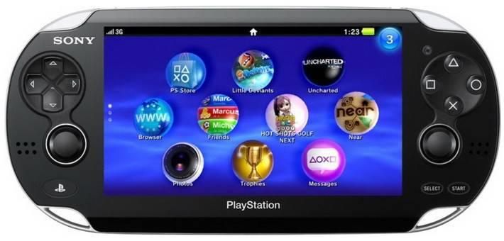 Игровая консоль Sony PlayStation Vita Wi-Fi черный - фото 1