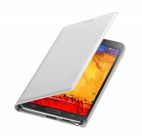 Чехол Samsung Flip Wallet, EF-WN900BWE, для Samsung Galaxy Note 3, белый (EF-WN900BWEGRU) - фото 1