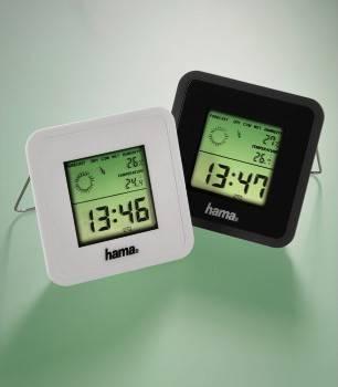 Термометр Hama TH50 черный - фото 1