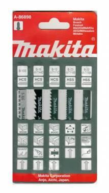 Набор пилок универсальные Makita A-86898 (5 пред.)