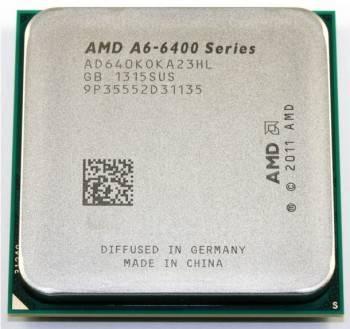 Процессор AMD A6 6400K Socket-FM2 OEM (AD640KOKA23HL)