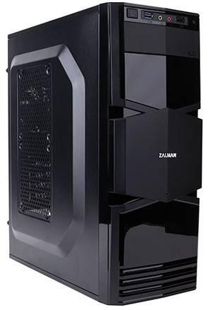 Корпус mATX Zalman ZM-T3 черный - фото 1