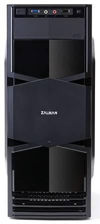 Корпус mATX Zalman ZM-T3 черный - фото 4
