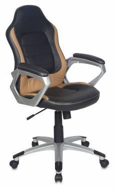 Кресло руководителя Бюрократ CH-825S / Black+Bg черный