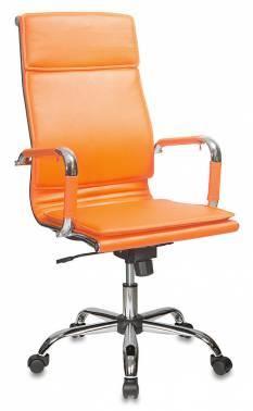 Кресло руководителя Бюрократ CH-993 оранжевый (CH-993/orange)