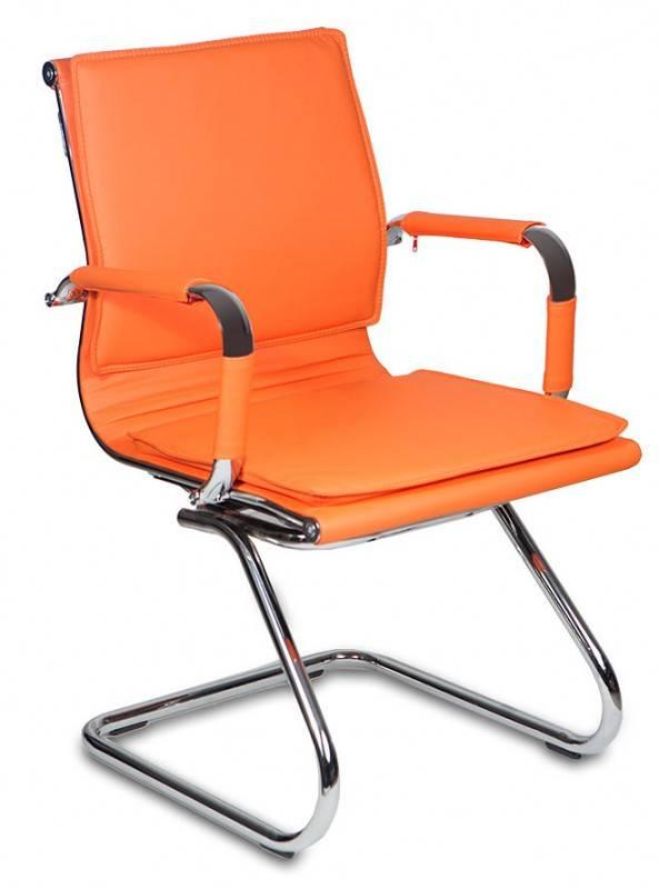 Кресло Бюрократ CH-993-Low-V оранжевый (CH-993-LOW-V/ORANGE) - фото 1