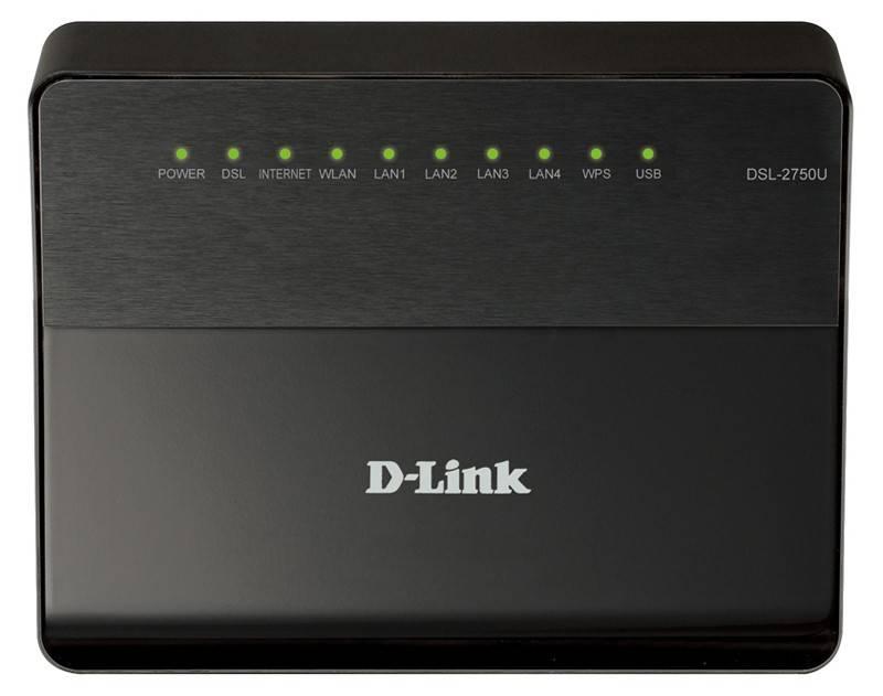 Беспроводной маршрутизатор D-Link DSL-2750U/B1A/T2A (DSL-2750U/B1A/T2A) - фото 1