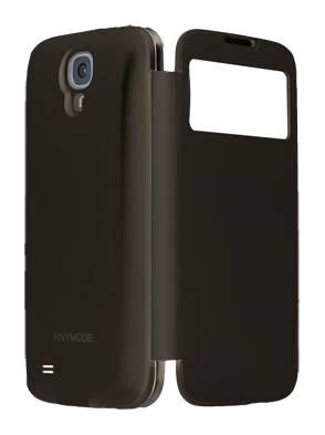 Чехол Anymode для Galaxy S 4 F-BRFP000 черный ViewPover Suit (F-BRFP000RBK) - фото 1