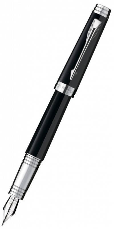 Ручка перьевая Parker Premier Laсque F560 Deep Black ST (S0887860) - фото 1