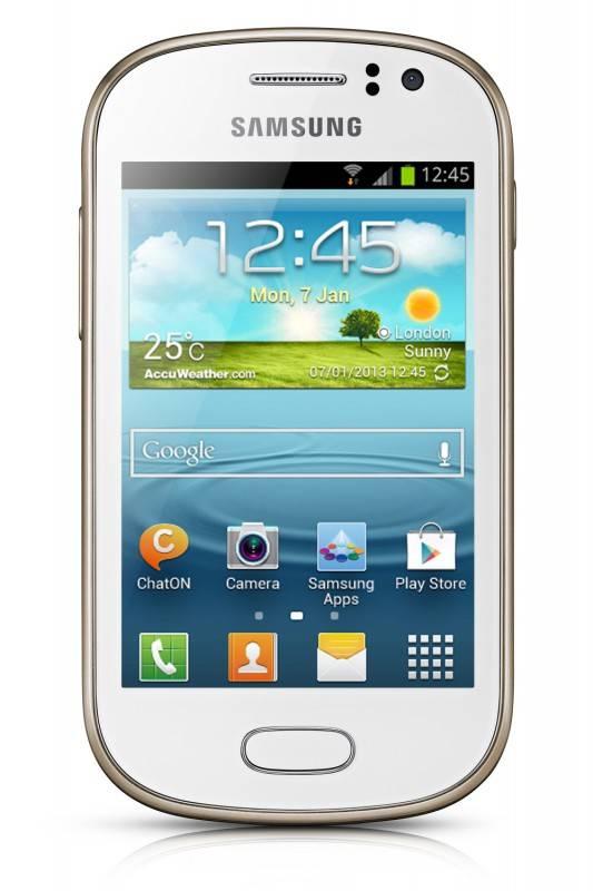 Смартфон Samsung Galaxy Fame Lite GT-S6790 4ГБ белый - фото 1