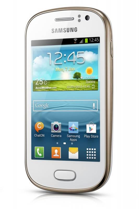 Смартфон Samsung Galaxy Fame Lite GT-S6790 4ГБ белый - фото 2