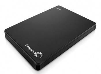 Внешний жесткий диск 1Tb Seagate STDR1000200 Backup Plus Slim черный USB 3.0