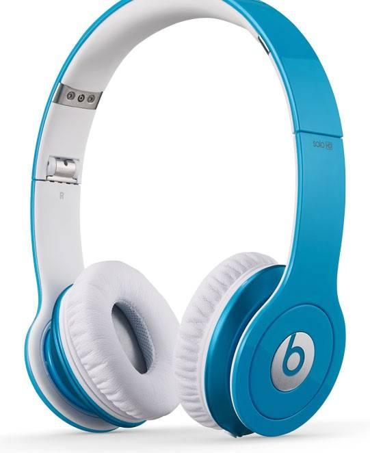 Наушники Beats Solo HD by Dr.Dre светло-голубой матовый - фото 1