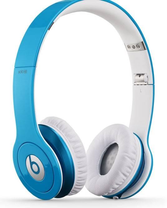Наушники Beats Solo HD by Dr.Dre светло-голубой матовый - фото 3