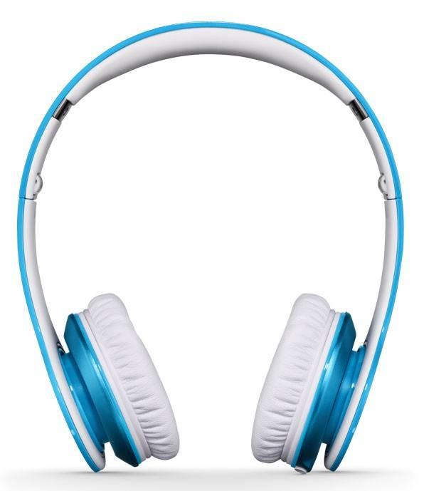 Наушники Beats Solo HD by Dr.Dre светло-голубой матовый - фото 4