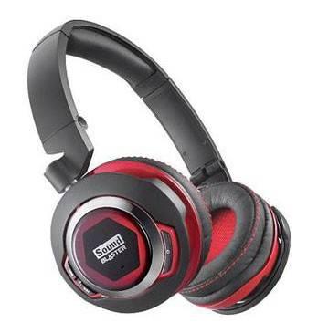Наушники с микрофоном Creative Sound Blaster EVO Zx черный/красный - фото 1