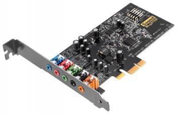Звуковая карта PCI-E Creative Audigy FX (70SB157000000)
