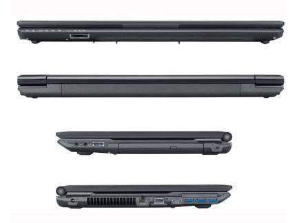 """Ноутбук 17.3"""" Fujitsu LifeBook NH532 синий - фото 3"""