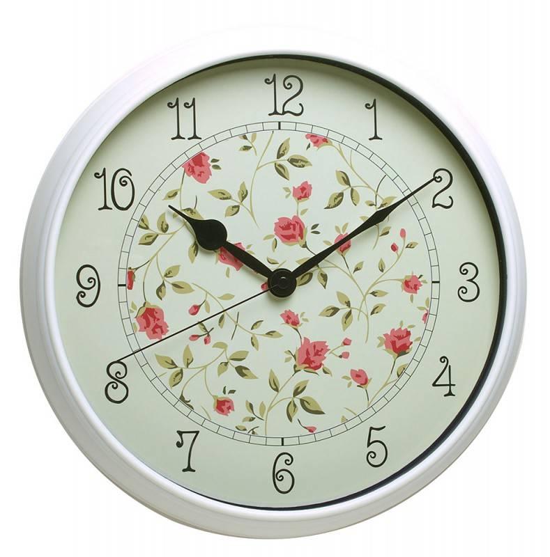 Настенные часы Бюрократ WallC-R23P аналоговые белый - фото 1