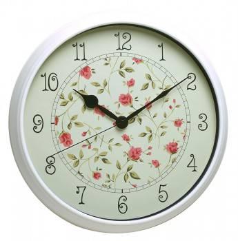 Настенные часы Бюрократ WallC-R23P белый (WALLC-R23P/WHITE)