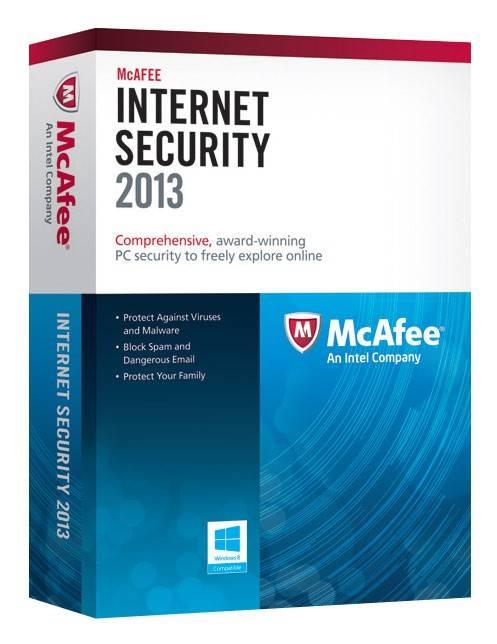 Антивирус McAfee Internet Security 2013 - фото 1