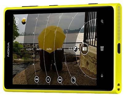Смартфон Nokia Lumia 1020 желтый - фото 2