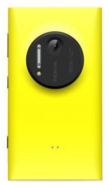 Смартфон Nokia Lumia 1020 желтый - фото 3
