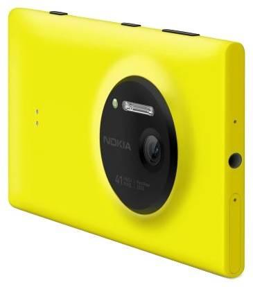 Смартфон Nokia Lumia 1020 желтый - фото 4