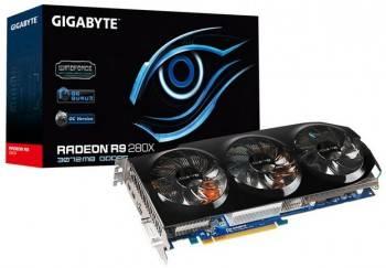 ����������  Gigabyte Radeon R9 280X 3Gb, GV-R928XOC-3GD