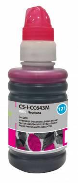 Чернила Cactus CS-I-CC643M пурпурный 100мл для HP DJ D1663 / D2563 / D2663 / D5563 / PS C4683 / C4783