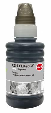 Чернила Cactus CS-I-CLI426GY серый 100мл для Canon Pixma MG5140 / 5240 / 6140 / 8140 / MX884