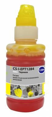 Чернила Cactus CS-I-EPT1284 желтый 100мл для Epson St S22 / SX125 / SX420 / SX425 / Of BX305