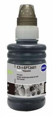 Чернила Cactus CS-I-EPT2601 черный 100мл для Epson ExpHo XP33 / 103 / 203 / 207 / 303 / 306