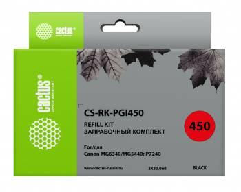 Картридж Заправочный набор Cactus CS-RK-PGI450