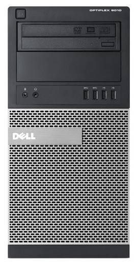 Системный блок Dell Optiplex 3010 MT черный/серебристый - фото 1