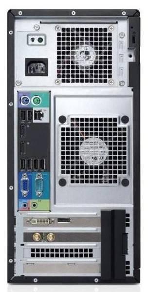 Системный блок Dell Optiplex 3010 MT черный/серебристый - фото 4