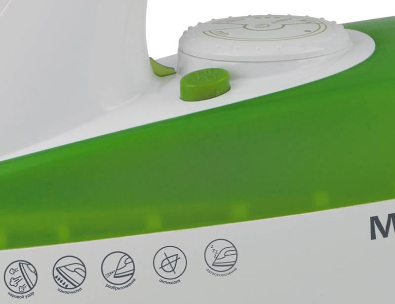 Утюг Maxwell MW-3022-G зеленый - фото 2