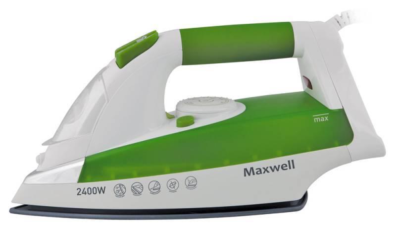 Утюг Maxwell MW-3022-G зеленый - фото 1