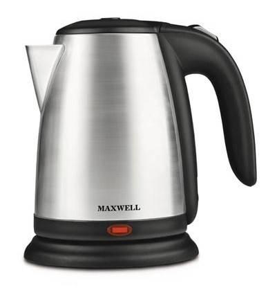 Чайник электрический Maxwell MW-1011-01 черный - фото 1