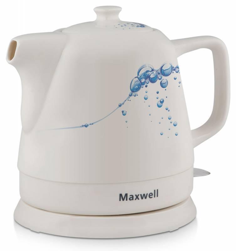 Чайник электрический Maxwell MW-1046-01-B синий - фото 1