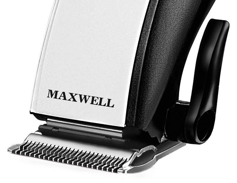 Машинка для стрижки волос Maxwell MW-2104-01 черный - фото 2