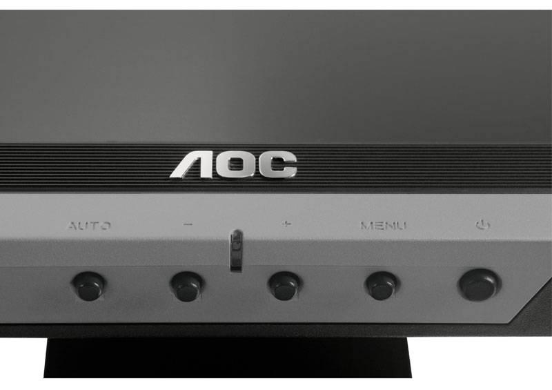 """Монитор 17"""" AOC Professional e719sd/01 серебристый - фото 7"""