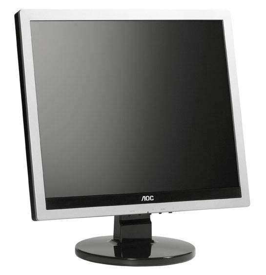 """Монитор 17"""" AOC Professional e719sd/01 серебристый - фото 4"""