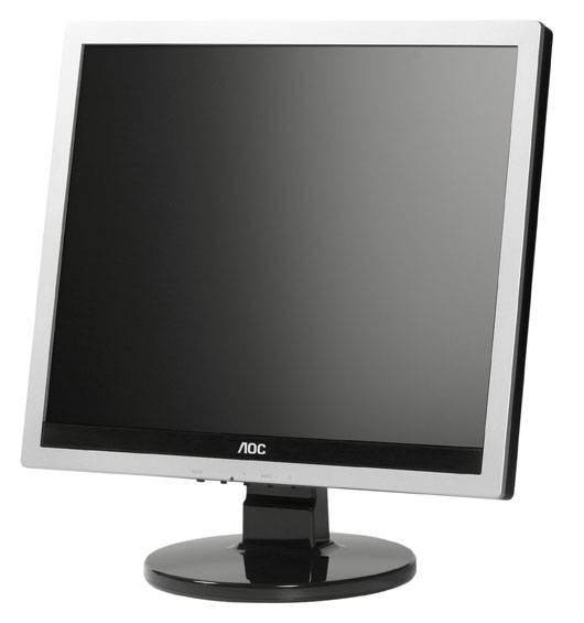 """Монитор 17"""" AOC Professional e719sd/01 серебристый - фото 5"""