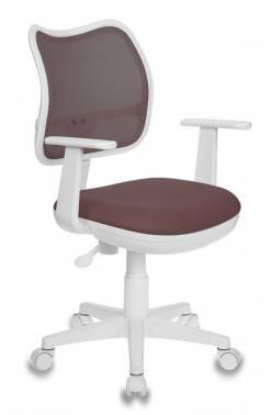 Кресло детское Бюрократ CH-W797 коричневый/коричневый (CH-W797/BR/TW-14C)