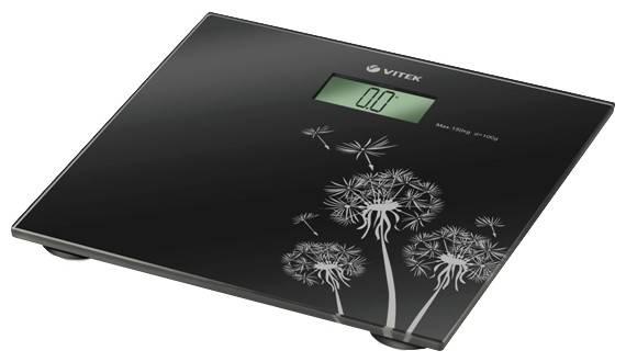 Весы напольные электронные Vitek VT-1954 черный - фото 1