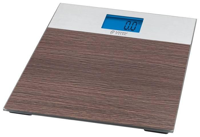 Весы напольные электронные Vitek VT-1981 BN коричневый - фото 1