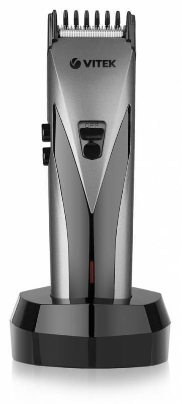 Машинка для стрижки волос Vitek VT-1360 серый - фото 1