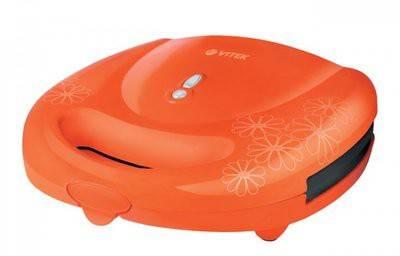 Сэндвичница Vitek VT-1593 оранжевый - фото 1